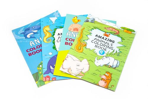 Amazing Animals Colouring Book COLOURING MATERIALS One Dollar Only
