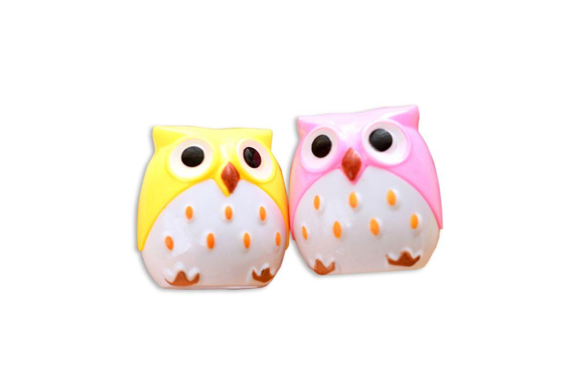 Cute Owl Shaped Pencil Sharpener