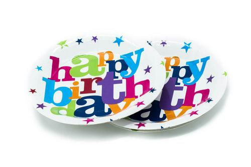Birthday Party Paper Plates (6pc) Party Supplies One Dollar Only