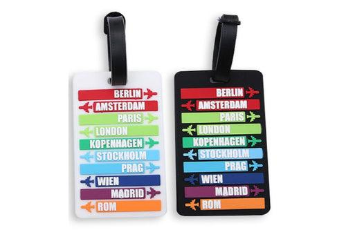 Travel Destination Places Theme Luggage Tag KEY CHAINS / LUGGAGE TAG One Dollar Only