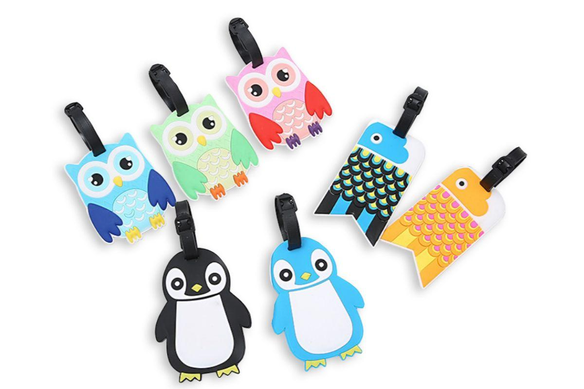 Cute Penguin Animal Design Luggage Tag