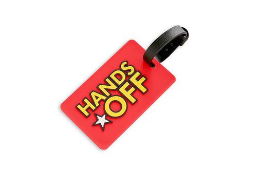 Hands Off Wording Luggage Tag KEY CHAINS / LUGGAGE TAG One Dollar Only