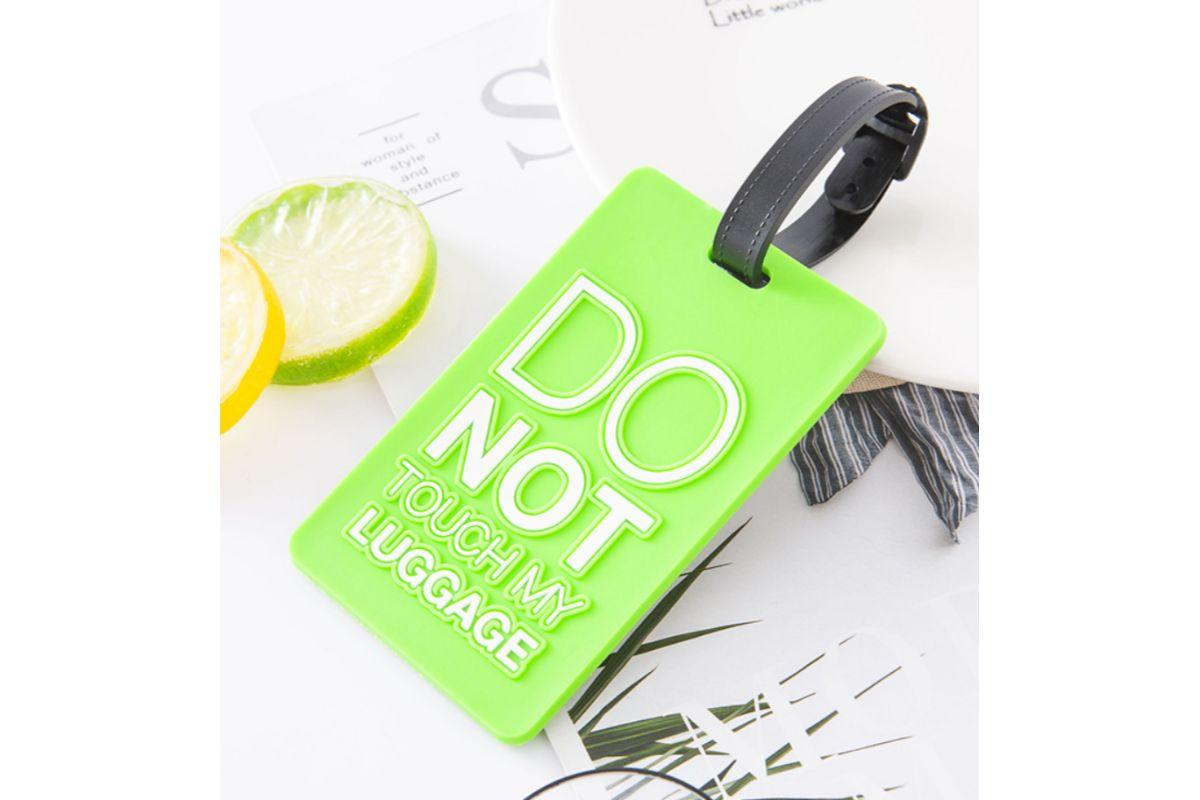 """Do Not Touch My Luggage"" Bag Tag"