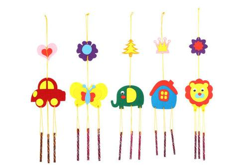 DIY Wind Chimes Ornament ART CRAFT DIY One Dollar Only