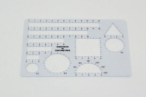 Model Drawing Template Everyday Stationery One Dollar Only