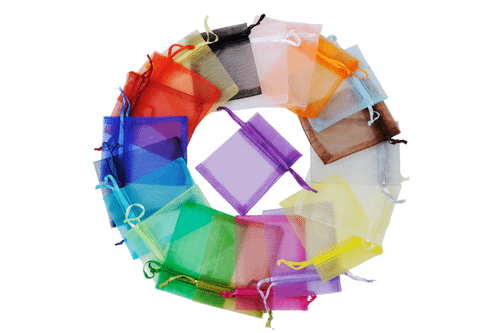 Drawstring Organza Goodie Bag Bags One Dollar Only