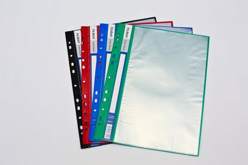 10 Pocket File-able Clear Holder Files and Folders One Dollar Only