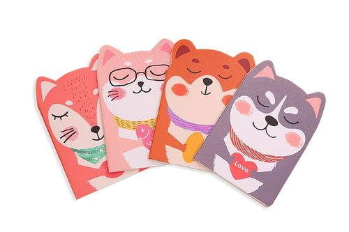 Cute Animal Design Notepad Notebooks One Dollar Only