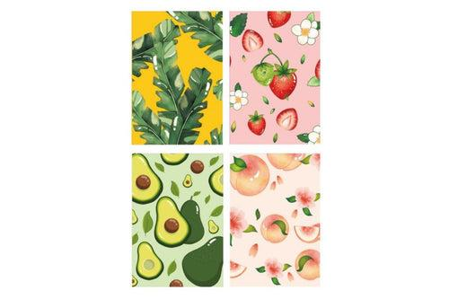 Forest Fruit Theme A5 Notebook Notebooks One Dollar Only