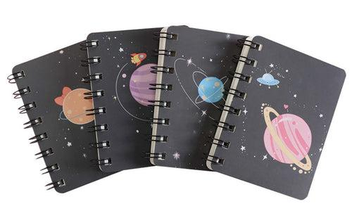 Galaxy Planet Design Spiral Notebook Notebooks One Dollar Only