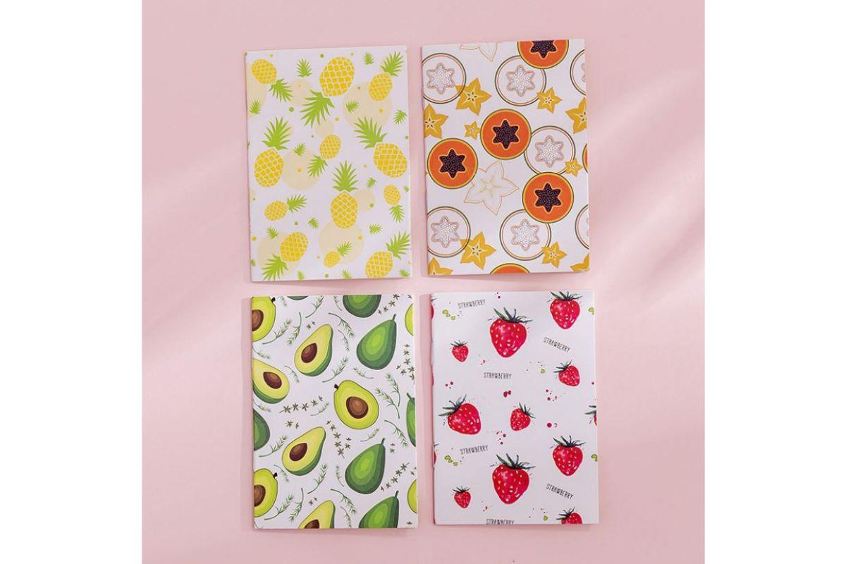 Floral Design Small Notebook
