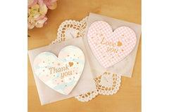 Heart Shaped Greeting Card