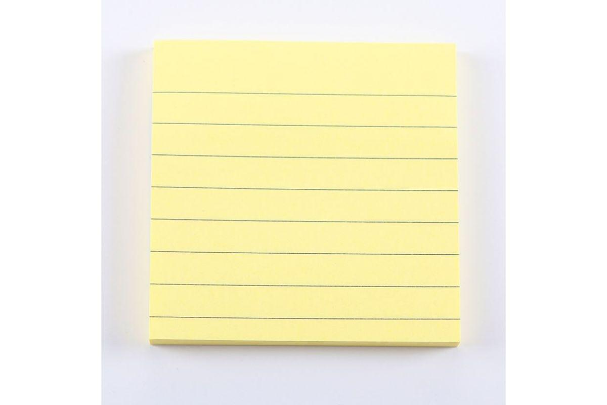Square Lined Post it Notes