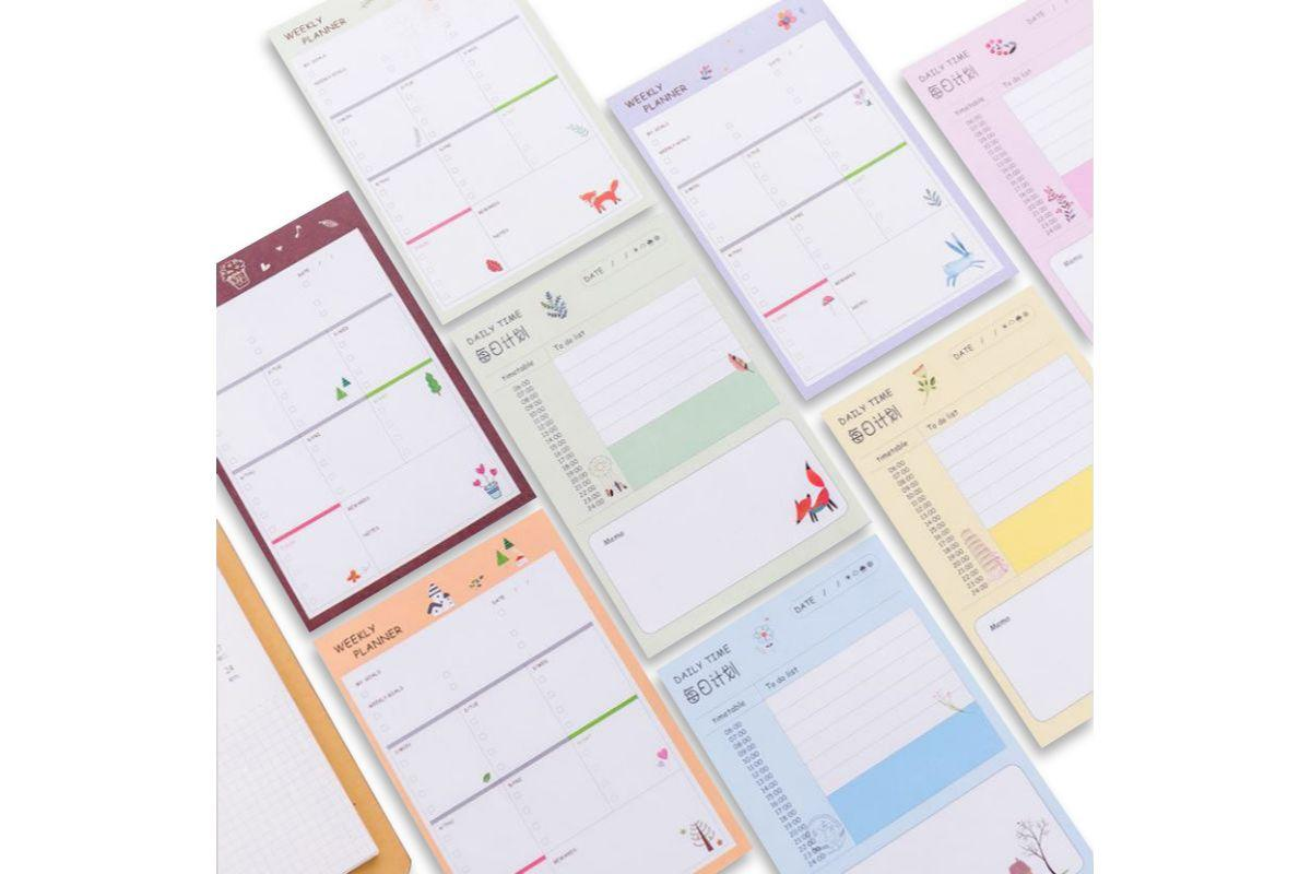 Forest Life Design Weekly Planner