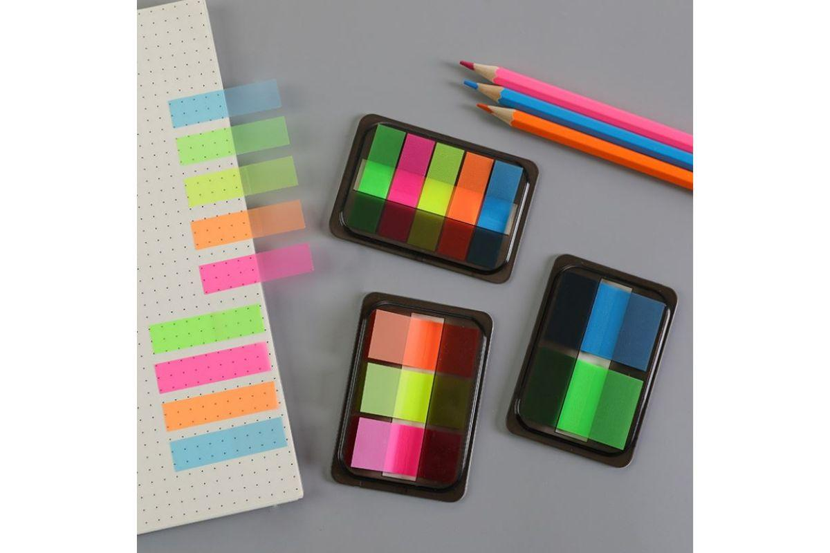 Neon Pull Out Post-It Notes