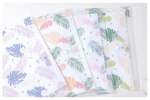 Botanical Design PP Button File (Pack of 12pcs) Files and Folders One Dollar Only