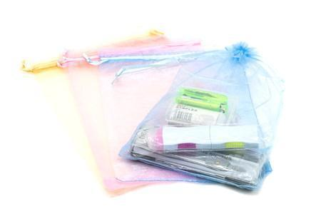 Drawstring Organza Goodie Bag (4pcs/pack) Bags One Dollar Only
