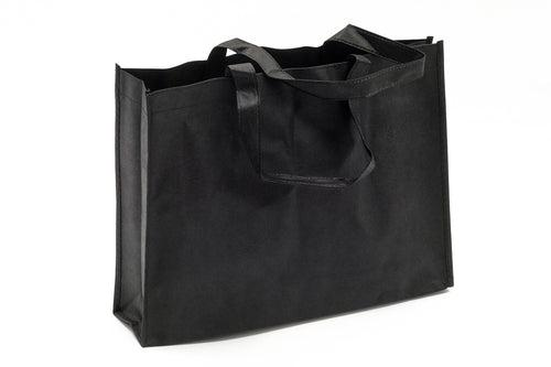 Black Horizontal Non Woven Bag Cases One Dollar Only