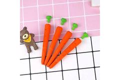 Cute Long Carrot Eraser