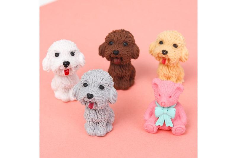 Cute Pet Dog Eraser Erasers One Dollar Only