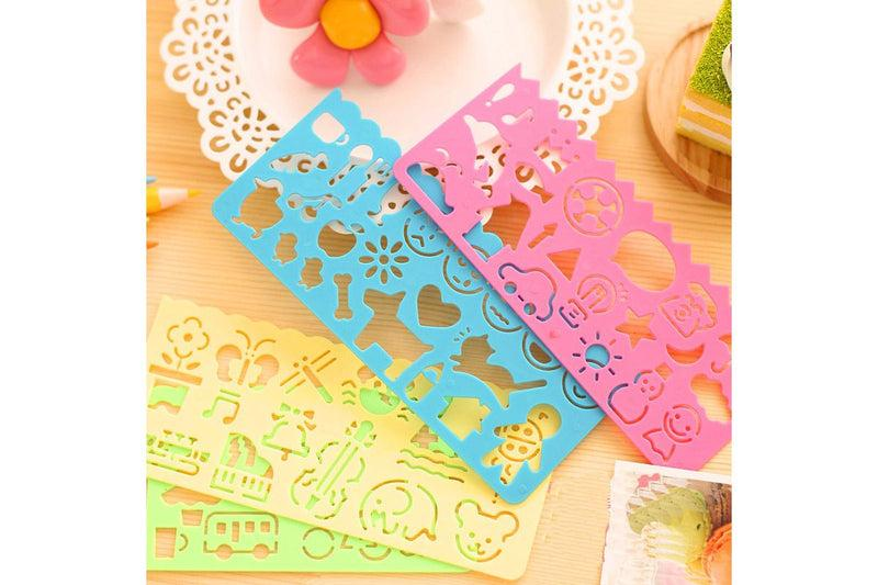 Children's Drawing Template Ruler Everyday Stationery One Dollar Only