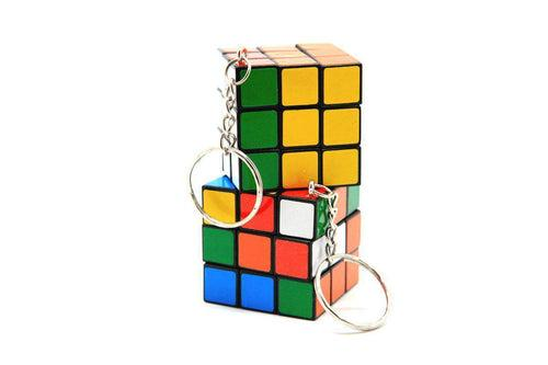 Rubik Cube Key Chain,  - Novelty/Children's Items - One Dollar Only