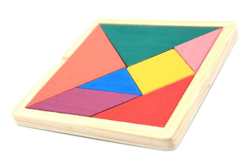 12CM Wooden Tangram Games and Toys One Dollar Only