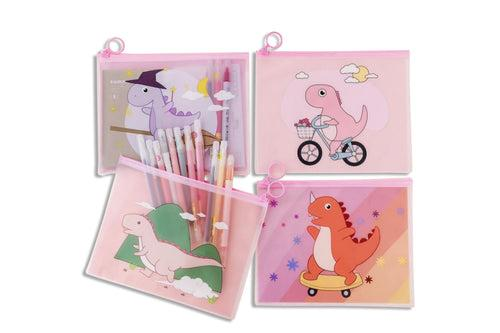 Cute Cartoon Dinosaur Zip Case Cases One Dollar Only
