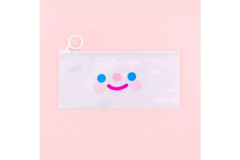 Cute White Ring Zip Case Cases One Dollar Only