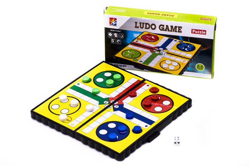 Airplane Ludo Game (Travel Sized) GAMES AND TOYS One Dollar Only