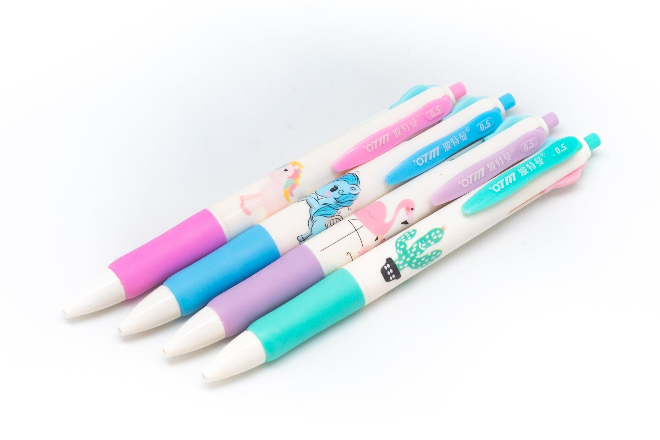 4 Colour Whimsical Design Pen