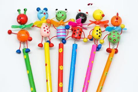 cute animal cartoon pencil
