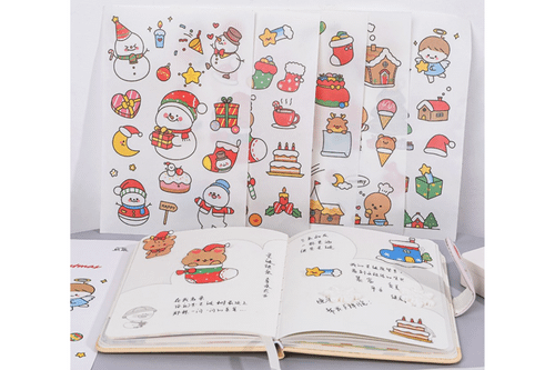 Christmas Theme Stickers Seasonal One Dollar Only