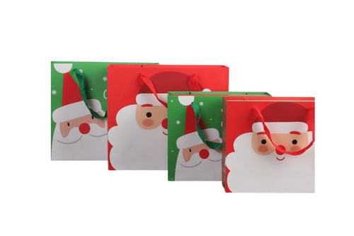 Cute Christmas Paper Bag Seasonal One Dollar Only