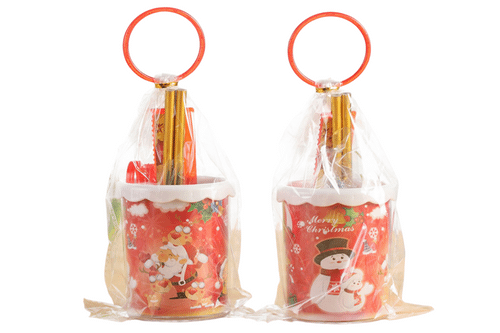 Christmas Theme Pen Holder Stationery Set Seasonal One Dollar Only