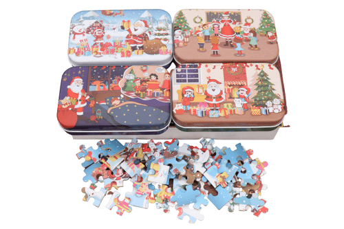 Christmas Theme Jigsaw Puzzle Seasonal One Dollar Only