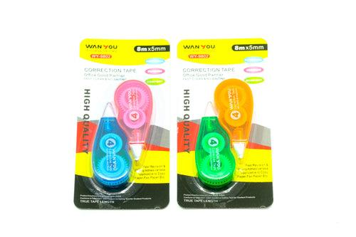 2-pc Correction Tape set Everyday Stationery One Dollar Only