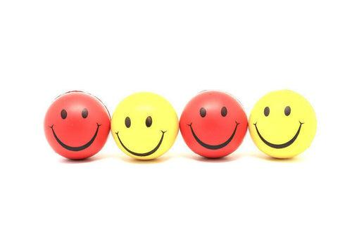 Stress Balls with Smiley Face Games and Toys One Dollar Only
