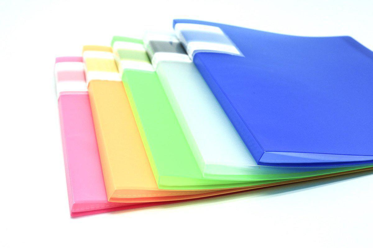 Translucent cover 10 sheet clearholder-Everyday Stationery,Stationery-One Dollar Only