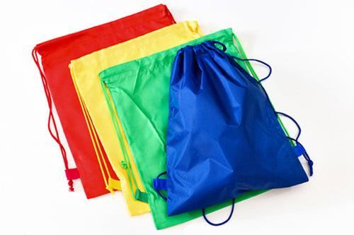 Drawstring Nylon Sports Bag (CCA Bag) Bags One Dollar Only