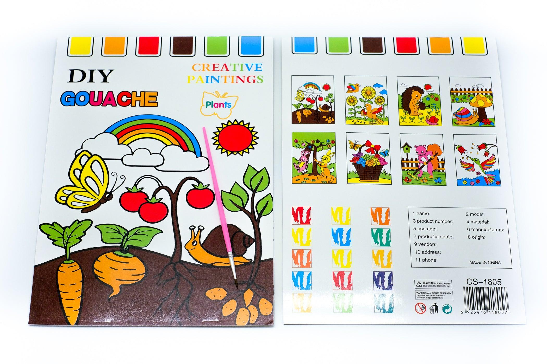 8 Sheet All in One Watercolour Set - NEW