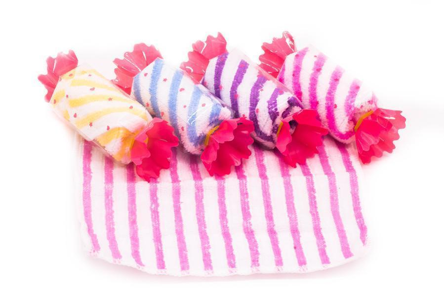 Candy Shaped Hand Towel,  -  - One Dollar Only