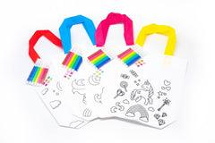 DIY Colouring Non Woven Bag Set - Unicorn Design, Default Title - 250619 - One Dollar Only