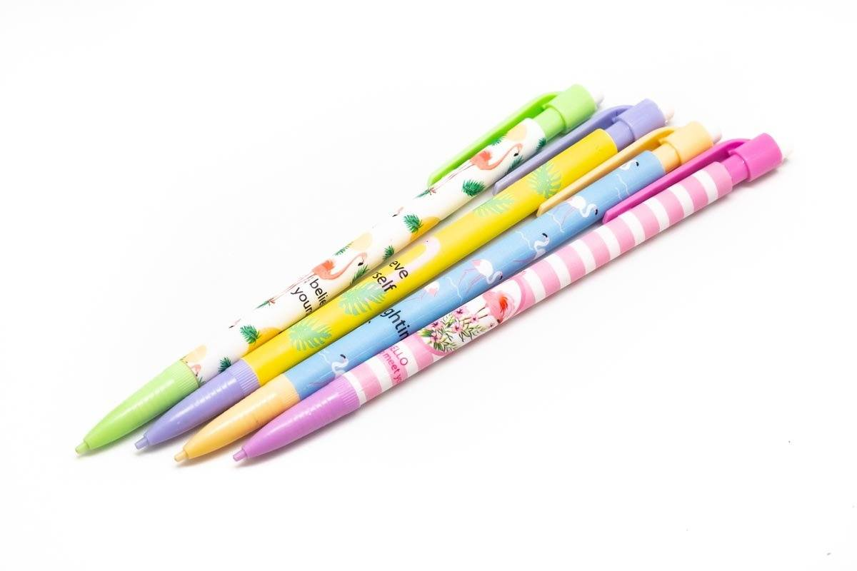 Flamingo Design Mechanical Pencil,  -  - One Dollar Only