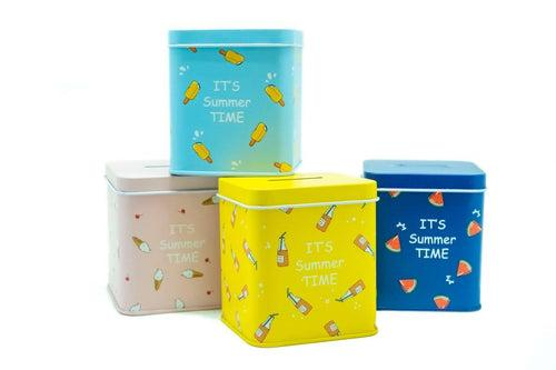 Ice Cream Design Coin Box,  - 250619 - One Dollar Only