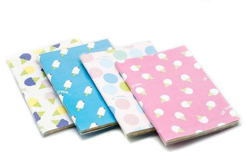 Large Monthly Notebook Planner Ice Cream Theme Notebooks One Dollar Only
