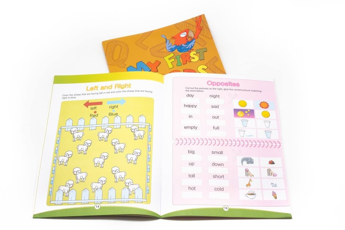 Learning About Alphabets Book,  - 250619 - One Dollar Only