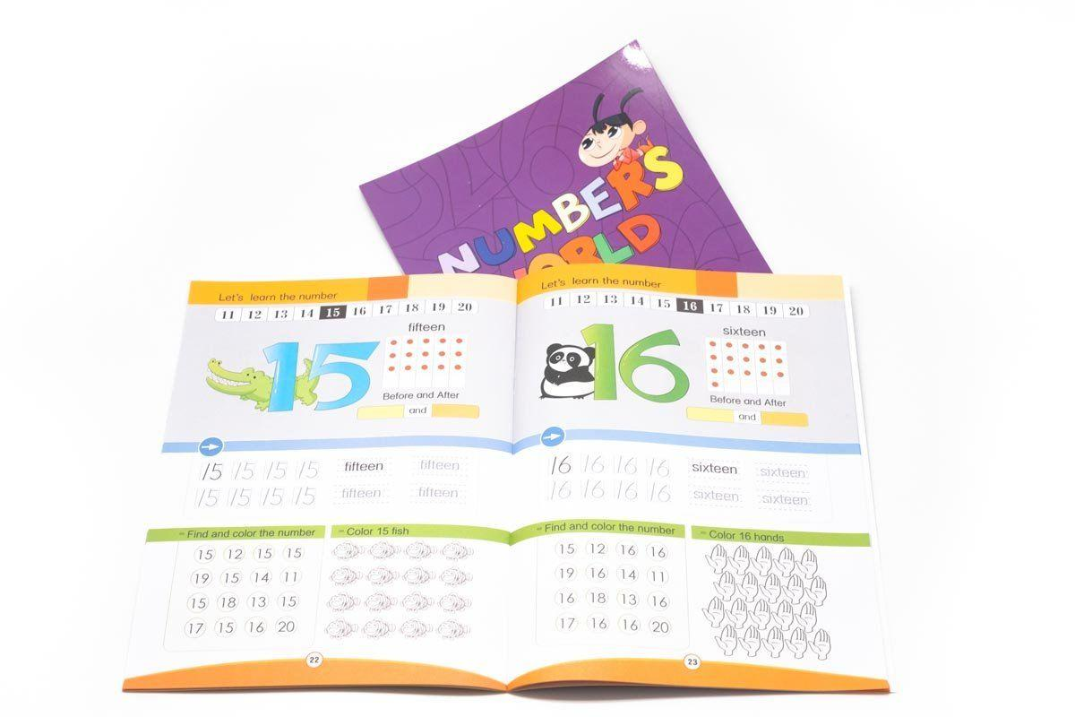 Learning About Numbers Book,  - 250619 - One Dollar Only