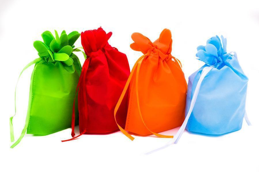 Mini Drawstring Non Woven Gift / Goodie Bag OneDollarOnly