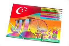 Elastic Band Folder with Singapore Design